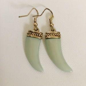 Boho statement piece earrings